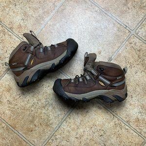 Women KEEN Mid Waterproof Steel-toe Boot